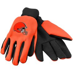 Cleveland Browns Colored Palm Utility Gloves - $6.99