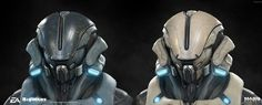 ArtStation - Mass Effect: ANDROMEDA Angara Helm and padding armor, Frederic Daoust