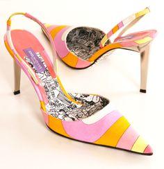 Emilio Pucci Heels.