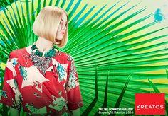 Kreatos kapsels voor vrouwen 2016 - Sailing down the amazon - haar halflang blond stijl