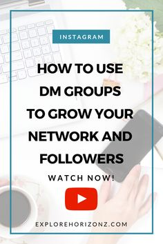 How to use Instagram DM groups to grow your network and followers. Use DM groups to set up a support network, connect and collaborate with like-minded people in an accessible place. Small Business Marketing, Marketing Plan, Content Marketing, Internet Marketing, Online Marketing, Social Media Marketing, Marketing Strategies, Digital Marketing, Best Business Plan