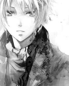 I love this kind of black and white arty anime ^__^