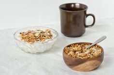 Coconut Ginger Granola with Almonds