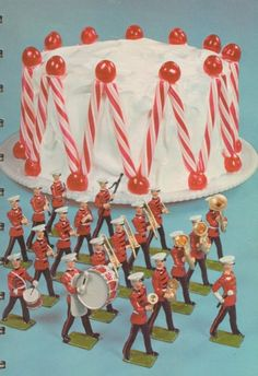 60's birthday cake - Mom used this book and we all had shaped cakes