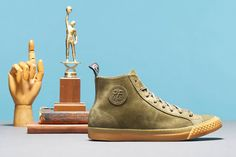 Todd Snyder x PF Flyers Rambler Suede Pack: As a part of this fall's drop from PF Flyers, the long-running American footwear label has teamed Sneakers Fashion, Fashion Shoes, Pf Flyers, Sports Footwear, Men's Footwear, Todd Snyder, Sneaker Magazine, Clothes Horse, Contemporary Fashion