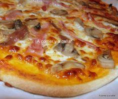 Si estás buscando la masa de pizza perfecta, no busques más porque esta lo es, al menos para mí. He hecho otras masas para pizza pero com...
