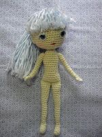 By Hook, By Hand: Free Spirit Amigurumi Doll Pattern {I used this pattern for the arms I made for a mermaid doll...it is GREAT! I will be referring back to this pattern for sure.} DP
