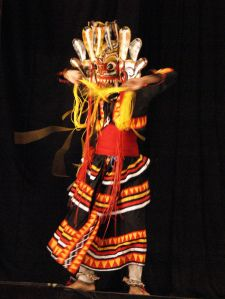 Mask Dance in Sri Lanka