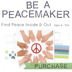 Be a Peacemaker: Teach Your Child to Find Peace Inside and Out - Playful Learning Ecademy Peace Studies, Peace Education, Emotional Child, Love And Logic, Classroom Design, School Counselor, Play To Learn, Finding Peace, Learning Centers