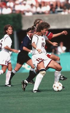 Michelle Akers starred for the University of Central Florida before leading the U.S. women's soccer team to the gold medal at the 1996 Olympics.
