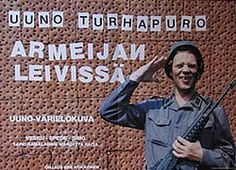 Uuno Turhapuro armeijan leivissä juliste 1984.