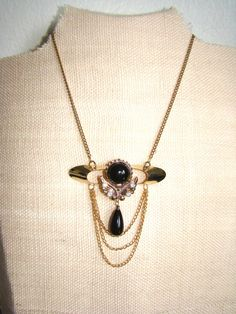 Necklace / Gold Pendant by AddiesWonders on Etsy, $25.00