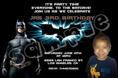 The+Dark+Knight+Rises+Batman+Birthday+Party+by+FunPartyCreations,+$8.00