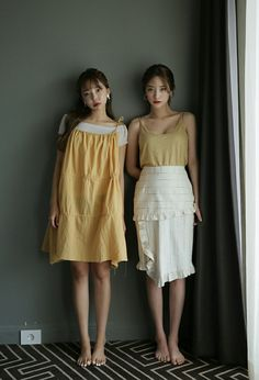 This is a fanpage of Stylenanda. all the photos belong to stylenanda. Enjoy :D Byun Jungha, Best Friend Goals, Stylenanda, Cute Casual Outfits, Korean Fashion, Lace Skirt, White Dress, Style Inspiration, My Style