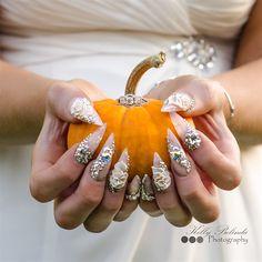 Bridal nails my photographer took: PHOTO CREDIT KELLY BELINDA PHOTOGRAPHY on fb