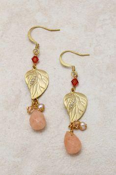 Swarovski Crystal Folio Earrings   Emma Stine Jewelry Earrings