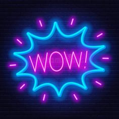Illustration about Neon sign of word wow in frame on dark background. Light banner on the wall background. Illustration of cloud, greeting, letter - 150422086 Giphy Gif, Thank You Wishes, Avakin Life, Illustration Art, Illustrations, Human Behavior, Lights Background, Dark Backgrounds, Cute Wallpapers