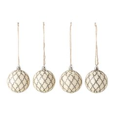 IKEA - VINTER 2015, Decoration, ornament, Easy to hang up since it comes with ribbons already attached.Made of a durable material which does not break if they are dropped.
