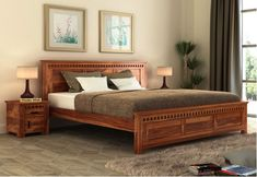 Bedding Master Bedroom, Bedroom Bed Design, Bedroom Furniture Design, Bed Furniture, Bedroom Designs, Master Bedrooms, Outdoor Furniture, Wooden Bed With Storage, Bed Designs With Storage