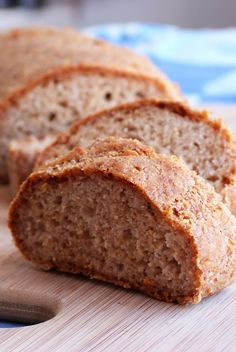 The Daily Dietribe: 5-Ingredient Mondays: Easy French Bread (Gluten/Dairy/Egg/Nut/Yeast-Free)