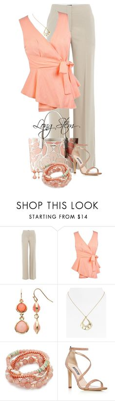 """7/08/17"" by longstem ❤ liked on Polyvore featuring Theory, Calvin Klein, LC Lauren Conrad, Alexis Bittar, Shashi and SJP"