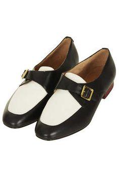 MATIE Two Tone Monk Shoe
