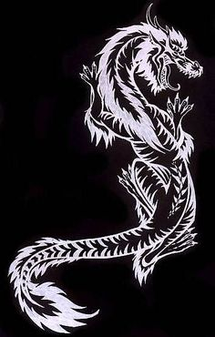 This is one of my favorites. It's a tattoo design I did for a co-worker. HE has this dragon climbing up his arm, and he had to sit for hours as he got it applied... ...poor bastard.