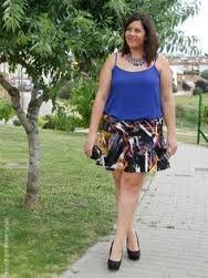 Resultado de imagen para faldas plus size