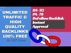 How to Create Unlimited High Quality Do Follow Backlinks FREE | OFF PAGE...