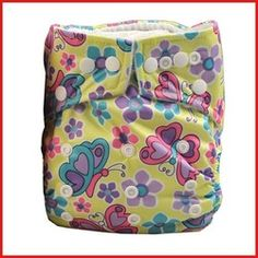 The cutest butterfly patterned modern cloth nappy. We love butterflies!