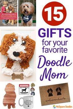 253831c6 15 Doodle Mom Gifts for the Doodle Mom Who Already Owns Every Cute Doodle  Mom T-shirt. Therapy Dog TrainingTherapy ...