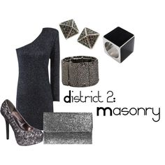 District 2: Masonry, created by checkers007.polyvore.com Outfit for the Hunger Games, District 2: Masonry.