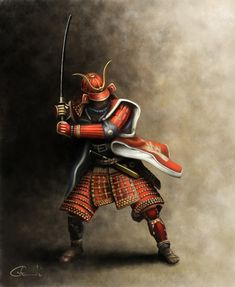 Avant Guard: Samurai Artwork by vladgheneli.deviantart.com