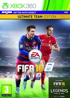 Fifa 16 Game Cover Icing Cake Topper (A4, XBOX 360): Amazon.co.uk: Kitchen &…