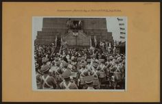 Bastille Day at the Statue of Liberty on July 14, 1936. NYPL United States History, Local History and Genealogy Division.