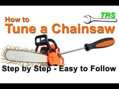 Anyone who has experience tuning chainsaws knows that there are so many different types of adjustment screw heads on all of the different brands of chainsaw . Best Chainsaw, Chainsaw Repair, Chainsaw Mill, Lawn Mower Maintenance, Lawn Mower Repair, Chainsaw Accessories, Garden Tool Shed, Yard Tools, Engine Repair