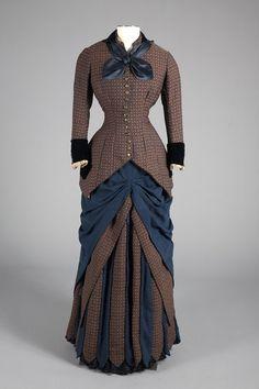 I love the effect on the skirting...  Day Dress Designer: Augustine Martin…