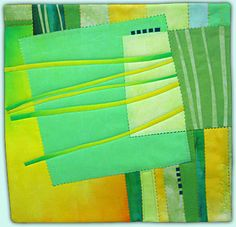 Banana Boulevard - Melody Johnson: Art Quilts - Galleries - Streets and Rivers Series