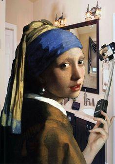Poster A3 La Joven De La Perla Muchacha Con Turbante Johannes Vermeer