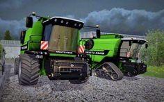 Farming simulator 2015 - Deutz 745RTS Pack v 1.2.1 #farmingsimulator2015 #mod