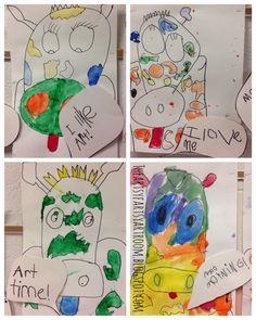 The Artsy Fartsy Art Room: Kindergarten Talking Cows