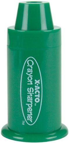 X-Acto Hand Held Crayon Sharpener(Colors May Vary )