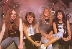 Metallica with Cliff Burton