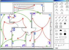 Exemple schema electrique maison Basic Electrical Wiring, Electrical Tester, Electrical Circuit Diagram, Electrical Layout, Electrical Plan, Electrical Projects, Electrical Installation, Electrical Engineering, Inverter Welding Machine