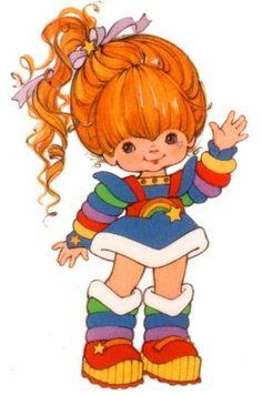My Favorite as a kid - Rainbow Brite. my daughter still loves Rainbow Brite. My Childhood Memories, Childhood Toys, Dibujos Cute, Old Cartoons, Classic Cartoons, 80s Kids, Girl Cartoon, Cartoon Art, The Good Old Days