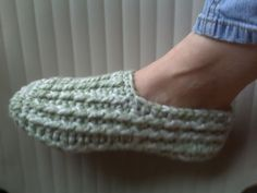 X-tra thick textured slippers (unisex) with video tutorial