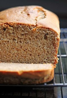 Quick and easy Peanut Butter Bread - The batter can be made in a blender!