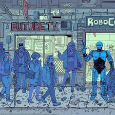 Art by Josan Gonzalez Cyberpunk Aesthetic, Cyberpunk Art, The Future Is Now, Drawing Reference, Plexus Products, Comic Art, Sci Fi, Digital Art, Photo And Video