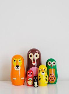 Nesting Doll - Bear Family