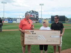 Thank you to ANB Bank for awarding PPUW with a check for $500 at the last Colorado Springs Sky Sox home game! We were honored to be part of this season's Home Run Hits program, and we appreciate all the ways ANB Bank contributes to this community year after year.